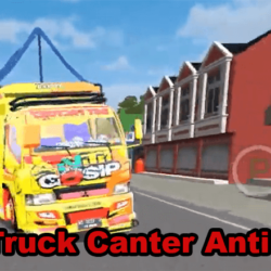 Download MOD Truck Canter Anti Gosip BUSSID (1)