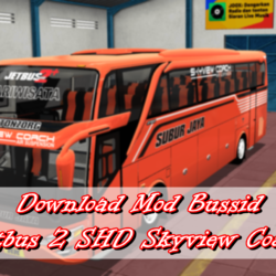 Download Mod Bussid Jetbus 2 SHD Skyview Coach