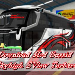 download mod bussid skyhigh sview terbaru