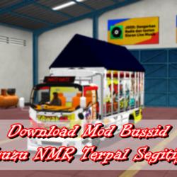 Download Mod Bussid Isuzu NMR Terpal Segitiga