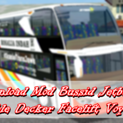 Download Mod Bussid Jetbus 3 Double Decker Facelift Voyager