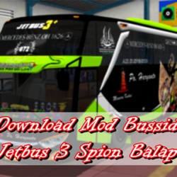 Download Mod Bussid Jetbus 3 Spion Balap