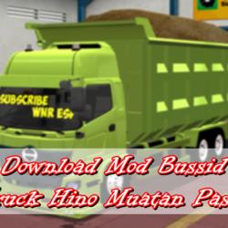Download Mod Bussid Truck Hino Muatan Pasir