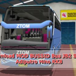 MOD BUSSID Bus JB2 SHD+ Adiputro Hino RK8