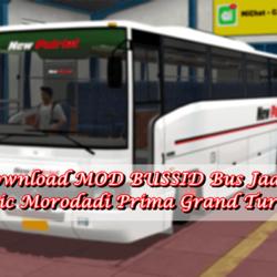 MOD BUSSID Bus Jadul Classic Morodadi Prima Grand Turismo