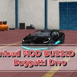 MOD BUSSID Mobil Buggatti Divo