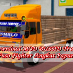 MOD BUSSID Truck Fuso Fighter Angkut Papan