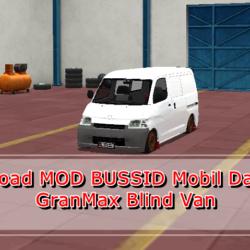 MOD Mobil Daihatsu GranMax Blind Van