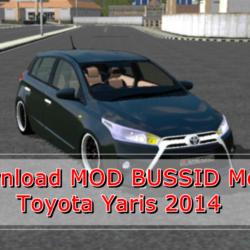 MOD Mobil Toyota Yaris 2014